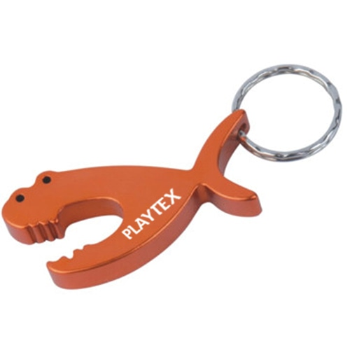 Piranha Fish Keychain With Opener