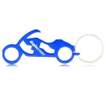 Motorcycle Bike Keychain Bottle Opener