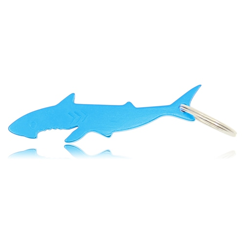 Shark Shaped Bottle Opener Keyring Image 2