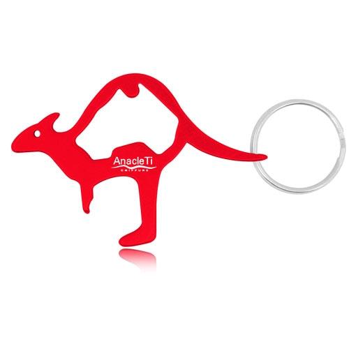 Kangaroo Bottle Opener Keychain