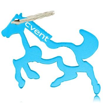 Running Horse Bottle Opener Keychain
