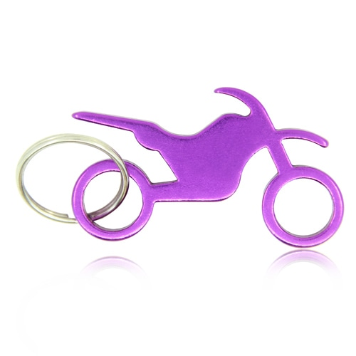 Stunt Bike Keychain With Opener Image 1