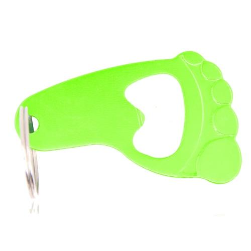 Foot Shape Bottle Opener Keyring