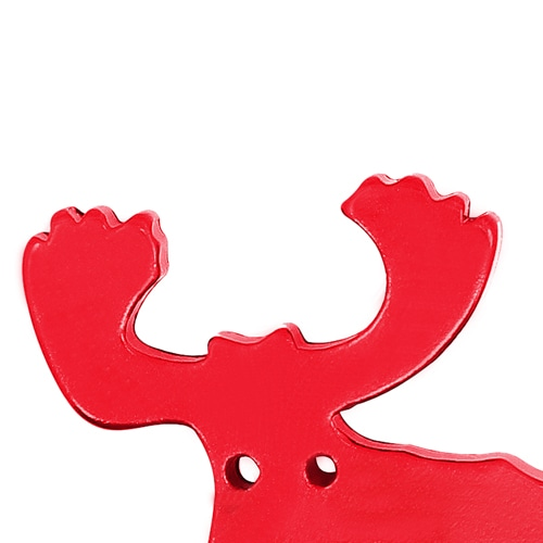 Moose Shape Keychain With Opener Image 5