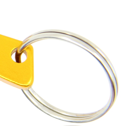 Gun Shape Bottle Opener Keychain Image 7