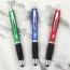 Rubber Grip Retractable Stylus Pen Image 1