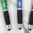 Rubber Grip Retractable Stylus Pen Image 3