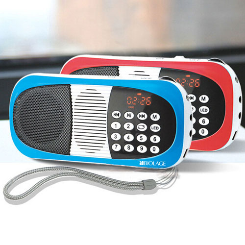 Portable Digital FM Radio With Mp3 Player