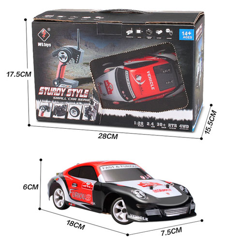 4CH Alloy Chassis Structure High Speed RC Car