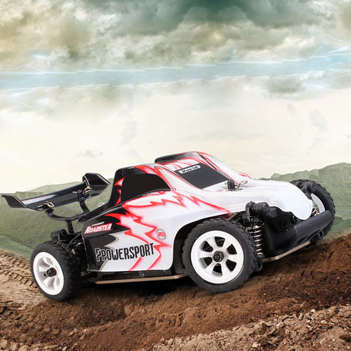2.4G 4CH RTR Off-Road Alloy Chassis RC Car
