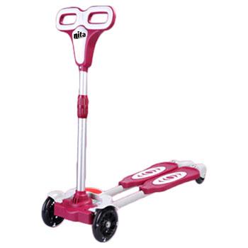 Children Flash Four Wheel Skating Scooter