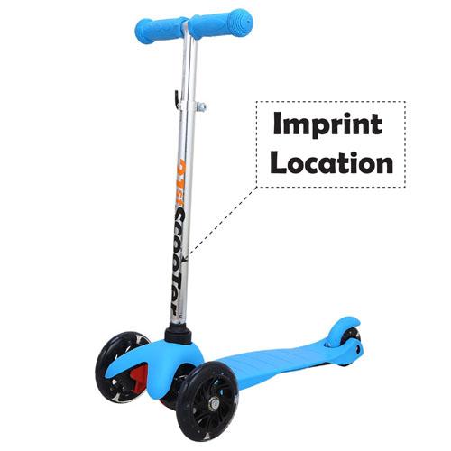 Children Lift Flashing Wheel Scooter
