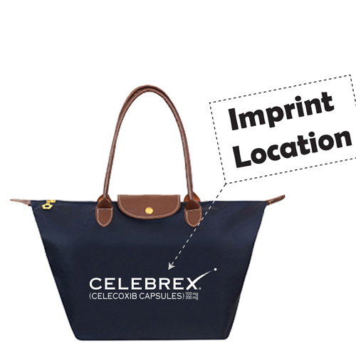 Women Water Proof Beach Handbag Imprint Image