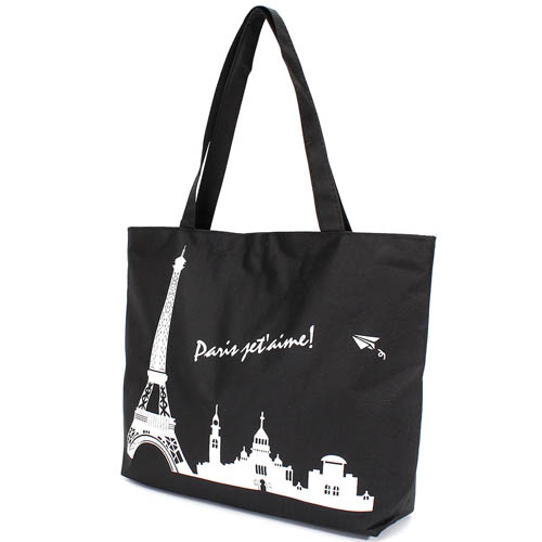 Paris Eiffel Tower Pattern Girls Beach Bag