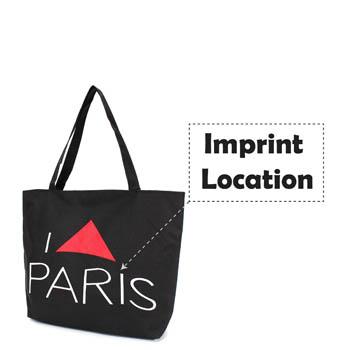 Paris Eiffel Tower Pattern Girls Beach Bag
