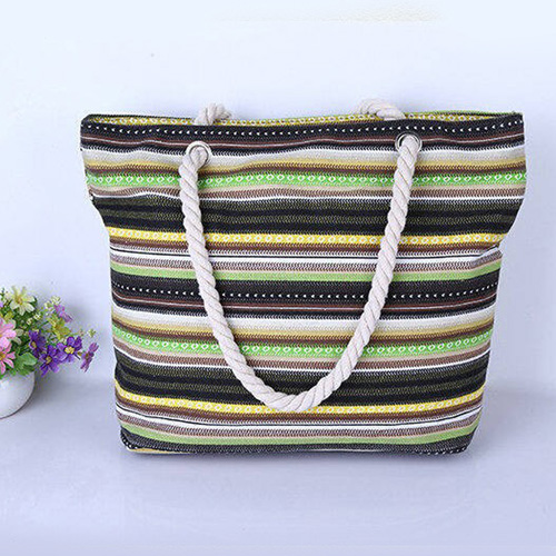 Canvas Summer Style Beach Bags  Image 3