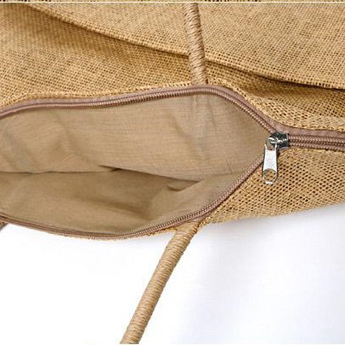 Straw Shoulder Diaper Bags Image 3