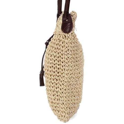 Women Weave Burlap Jute Pouches