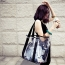 Transparent Crystal Women's Shoulder Beach Bag