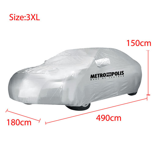 Waterproof Snow Raincoat Sun Dust Protection Car Image 1