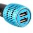 Universal Aluminum 2 USB Ports Car Charger  Image 5
