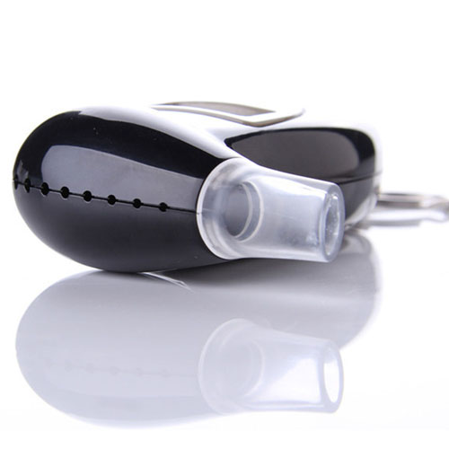 Portable LCD Breath Alcohol Tester Keychain Image 2