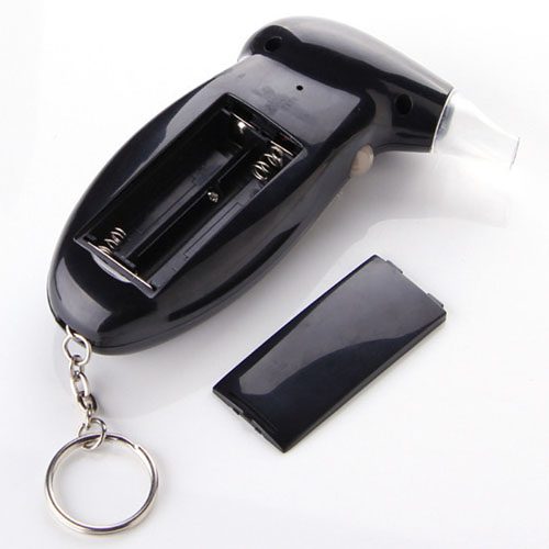 Portable LCD Breath Alcohol Tester Keychain Image 4
