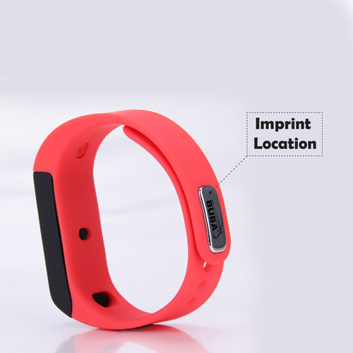 Waterproof Bluetooth Sleep Monitor Wristband Imprint Image