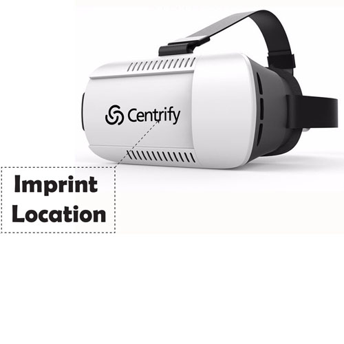 3D Virtual Reality 4.7 - 6 inches Smartphone VR Glasses Imprint Image