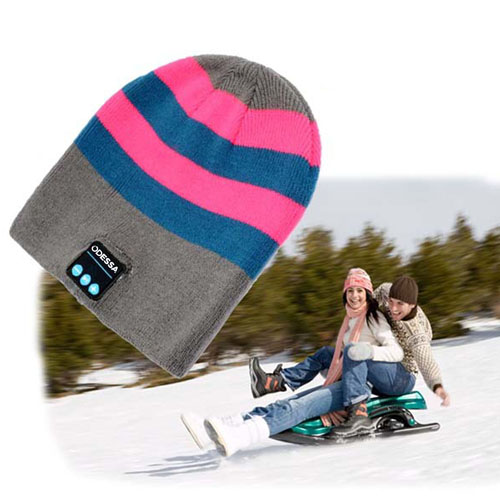 Outdoor Sport Bluetooth Stereo Music Hat Image 1