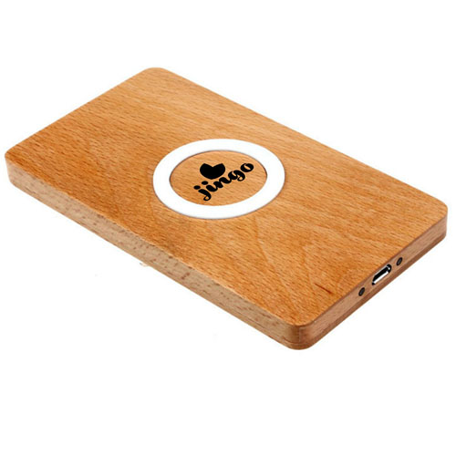 Wooden Strip Wireless Charger Power Pad Image 2
