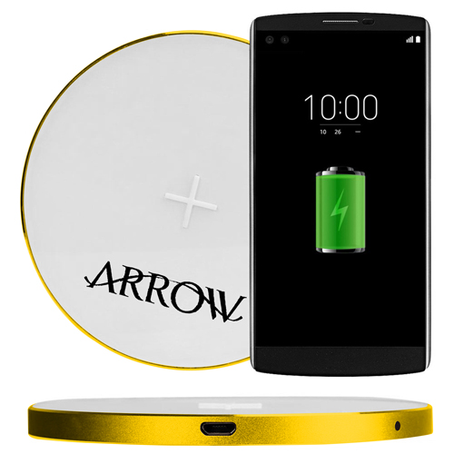 Ultra-Thin Portable Qi Wireless Charging Pad