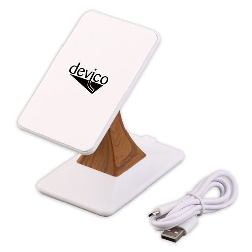 2 in 1 Wireless Charger Dock Cradle Stand Image 2