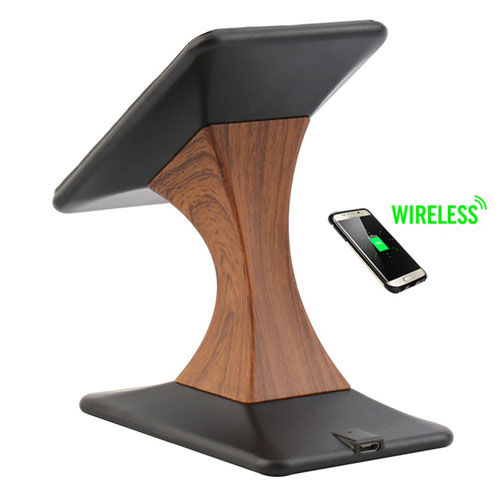 2 in 1 Mobile Wireless Charger Dock Cradle Stand Image 2
