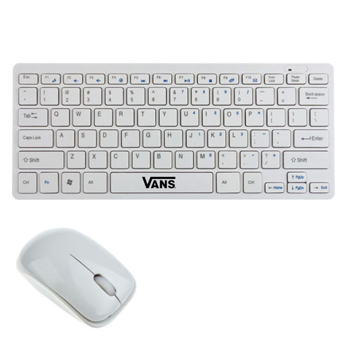 2.4G Ultra-Slim Wireless Keyboard With Mouse