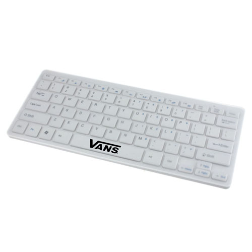 2.4G Ultra-Slim Wireless Keyboard With Mouse Image 1