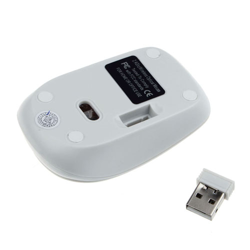 2.4G Ultra-Slim Wireless Keyboard With Mouse Image 3