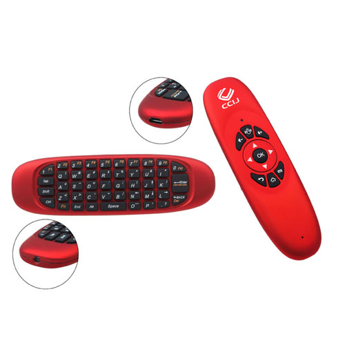 3 In 1 2.4GHz Wireless Air Mouse Keyboard Image 1