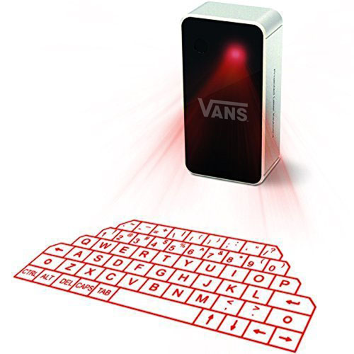 Portable Virtual Laser Projection Keyboard