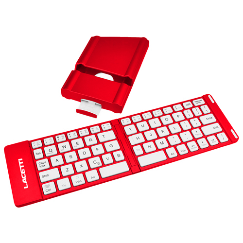 2 In 1 Slim Bluetooth Wireless Foldable Keyboard