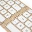 2 In 1 Slim Bluetooth Wireless Foldable Keyboard Image 4