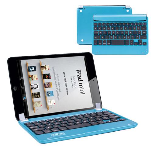 Multimedia Aluminum Wireless Bluetooth Keyboard Image 1
