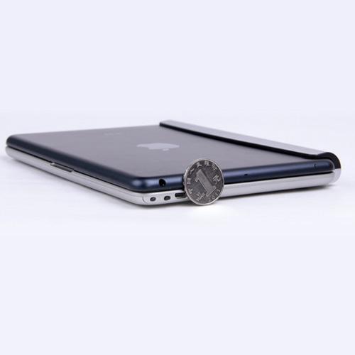 Multimedia Aluminum Wireless Bluetooth Keyboard Image 3