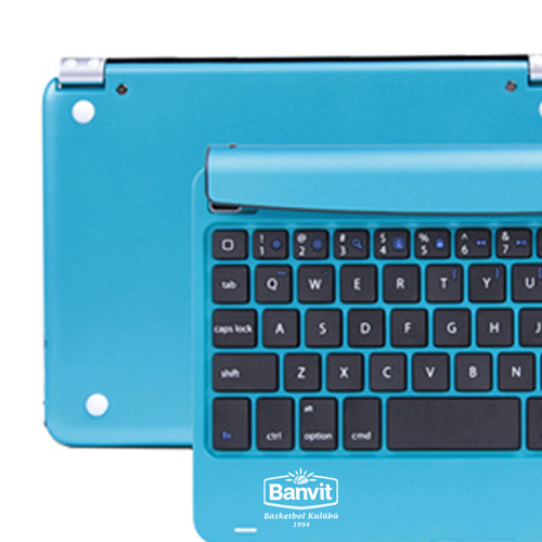 Multimedia Aluminum Wireless Bluetooth Keyboard Image 4