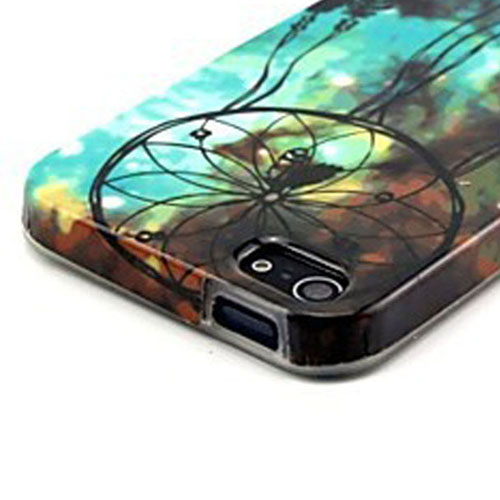 Dreamcatcher Pattern TPU Soft Case For iPhone 5/5S