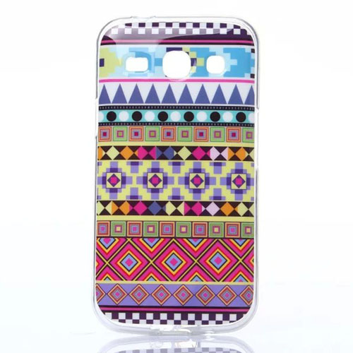 Soft TPU Fashion Color Owl Flowers Tiger Cases