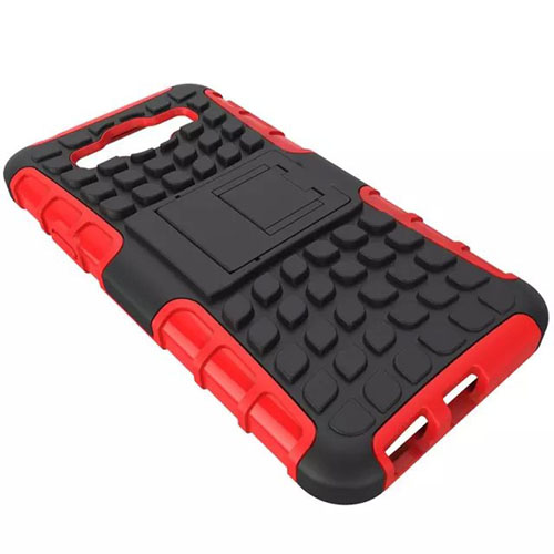 Hybrid Kickstand Rugged Rubber Stand Function Cases