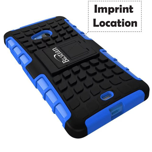 Retro Rugged Rubber Braided Pattern Hard Mobile Cases