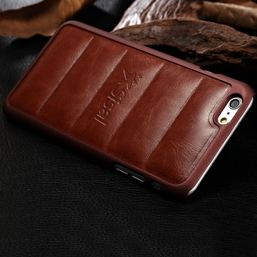 Plastic Edge Pattern Leather Phone Cover Image 2