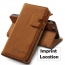 PU Leather Wallet Style Card Slots Stand Design Cover